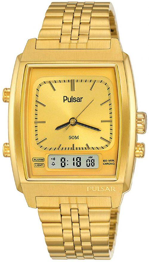 Pulsar 99999 Herrklocka PBK036X2 Gulguldstonad/Gulguldtonat stål