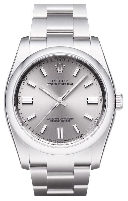 Rolex Perpetual 36 Herrklocka 116000-0009 Silverfärgad/Stål Ø36 mm