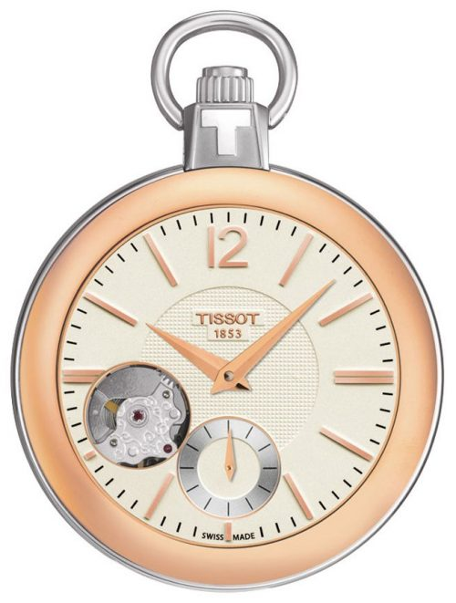 Tissot T-Pocket 1920 Mechanical T853.405.29.267.01 Antikvit Ø49 mm