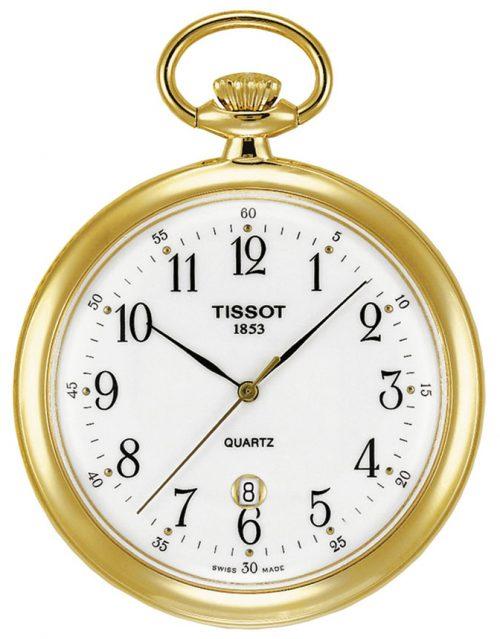 Tissot T-Pocket Lepine Quartz T82.4.550.12 Vit Ø48.68 mm