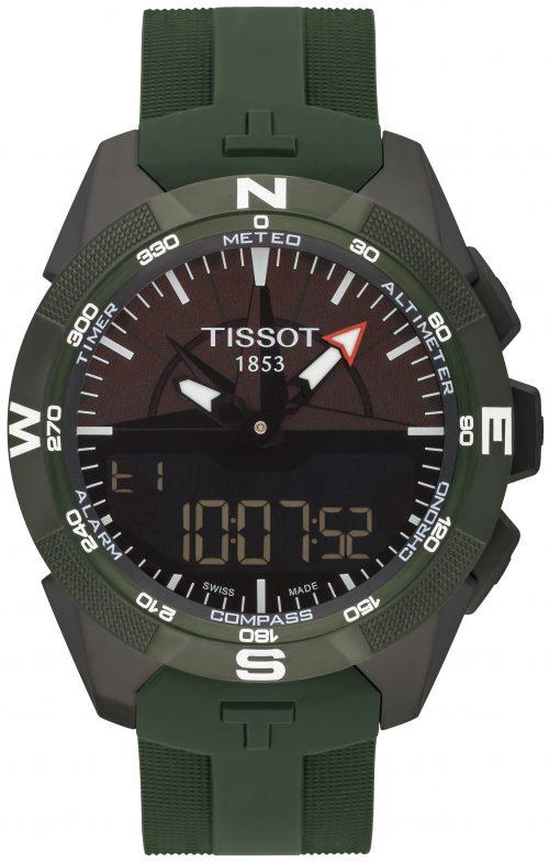 Tissot T-Touch Herrklocka T110.420.47.051.00 Svart/Gummi Ø45 mm