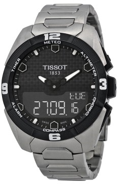 Tissot Touch Collection Herrklocka T091.420.44.051.00 Svart/Titan