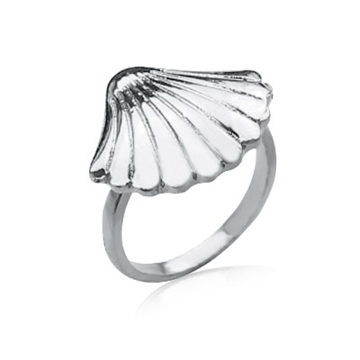 Everneed Shella Ring Silver Finish 54