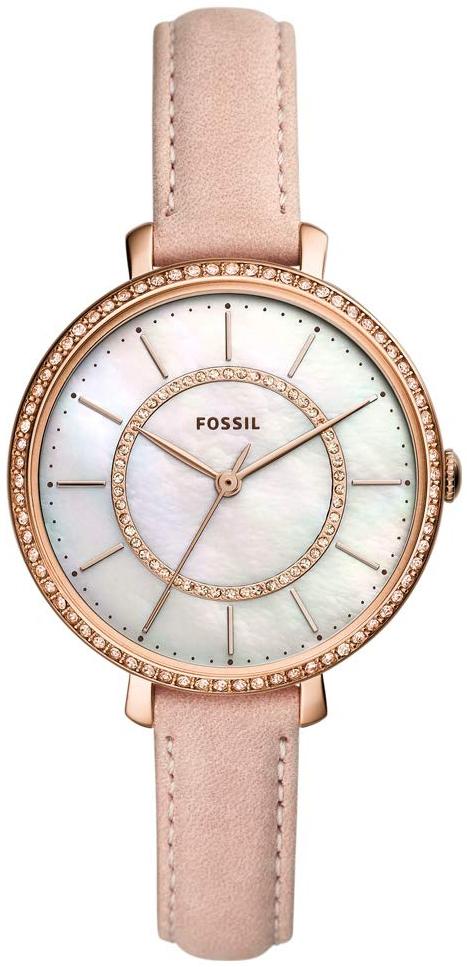 Fossil Jocelyn Damklocka ES4455 Vit/Läder Ø36 mm