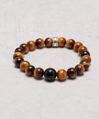 Thomas Sabo Armband A1408 Tigers Eye Brun