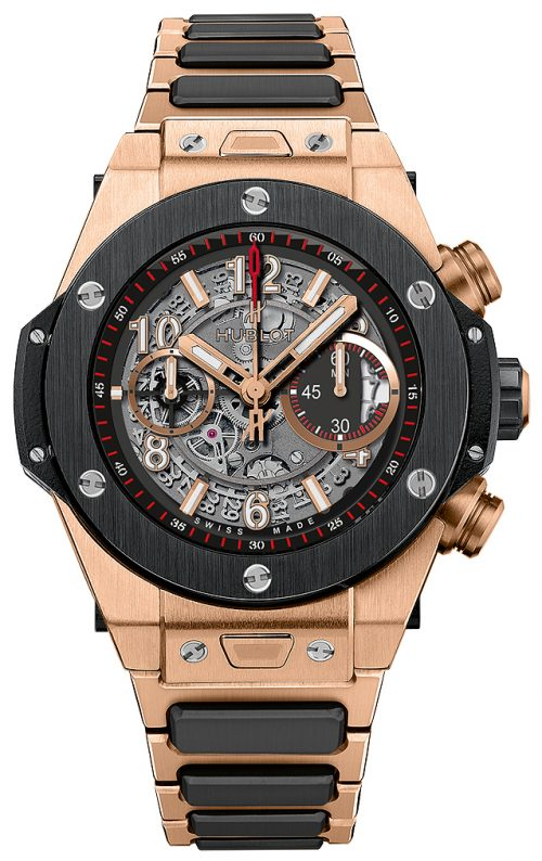 Hublot Big Bang 45mm Herrklocka 411.OM.1180.OM Skelettskuren/18 karat