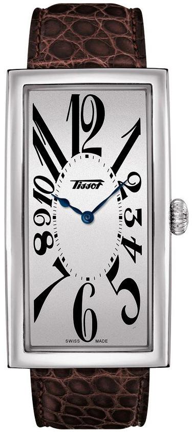 Tissot Heritage Herrklocka T117.509.16.032.00 Silverfärgad/Läder