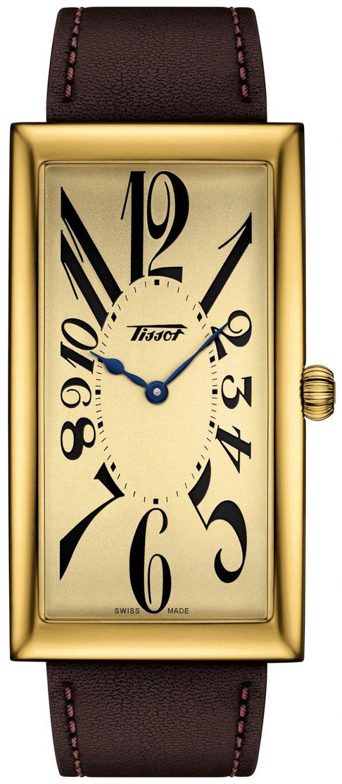 Tissot Heritage Herrklocka T117.509.36.022.00 Champagnefärgad/Läder