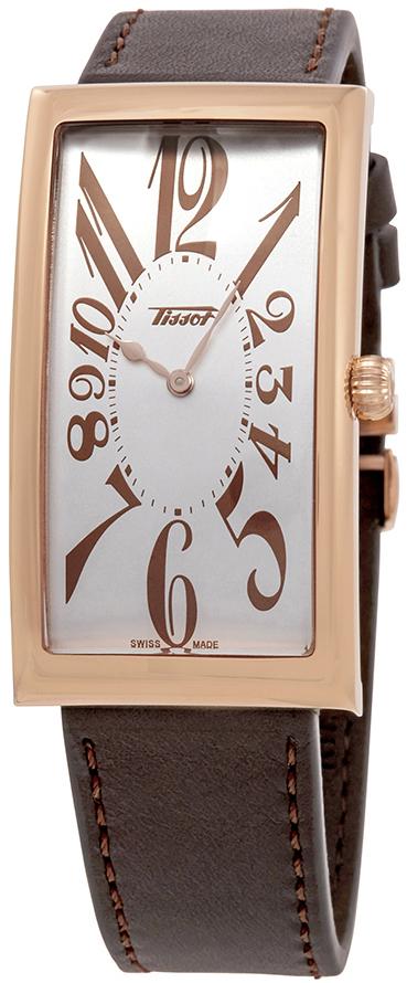 Tissot Heritage Herrklocka T117.509.36.032.00 Silverfärgad/Läder