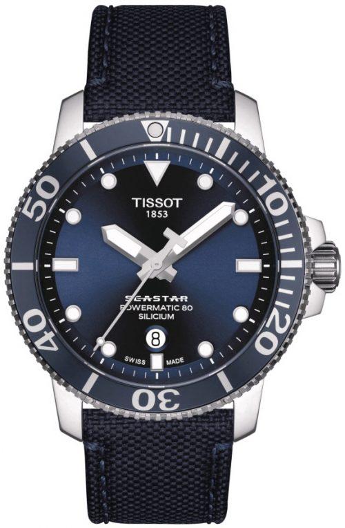 Tissot Seastar 1000 Herrklocka T120.407.17.041.01 Blå/Gummi Ø43 mm