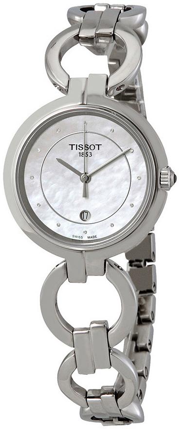 Tissot T-Lady Damklocka T094.210.11.116.00 Vit/Stål Ø26 mm