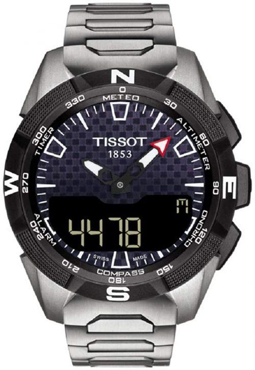 Tissot T-Touch Herrklocka T110.420.44.051.00 Svart/Titan Ø45 mm