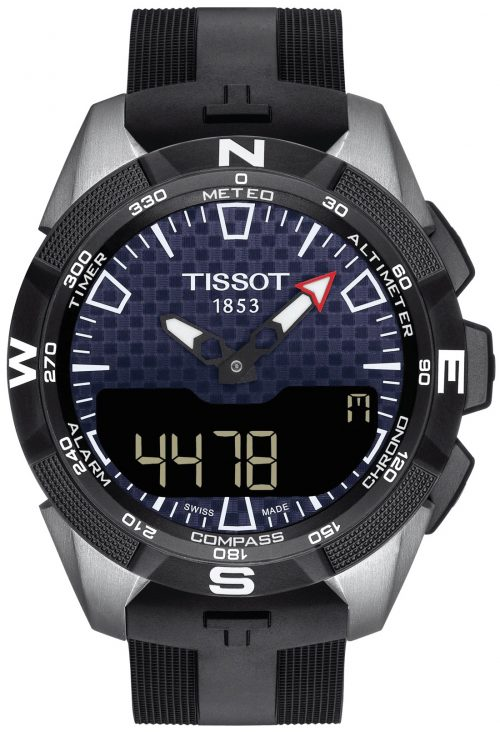 Tissot T-Touch Herrklocka T110.420.47.051.01 Svart/Gummi Ø45 mm