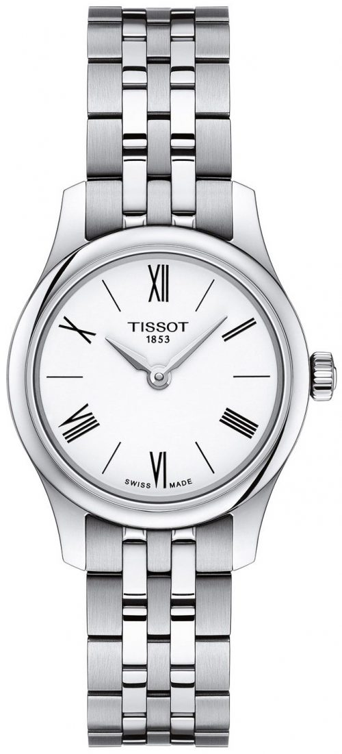 Tissot Tradition Damklocka T063.009.11.018.00 Vit/Stål Ø25 mm