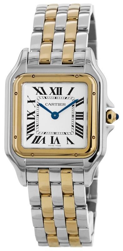 Cartier Panthere De Cartier Damklocka W2PN0007 Silverfärgad/18 karat