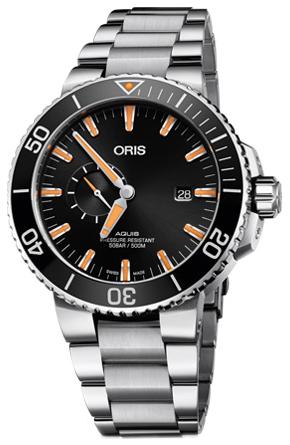 Oris Diving Herrklocka 01 743 7733 4159-07 8 24 05PEB Svart/Stål