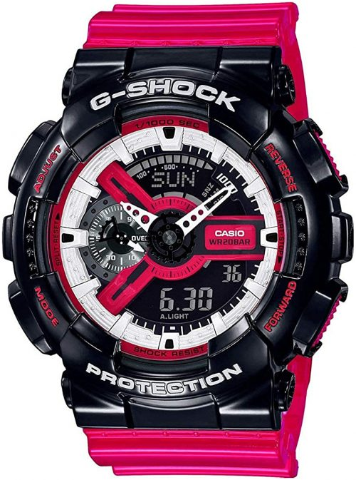 Casio G-Shock Herrklocka GA-110RB-1AER LCD/Resinplast Ø49 mm