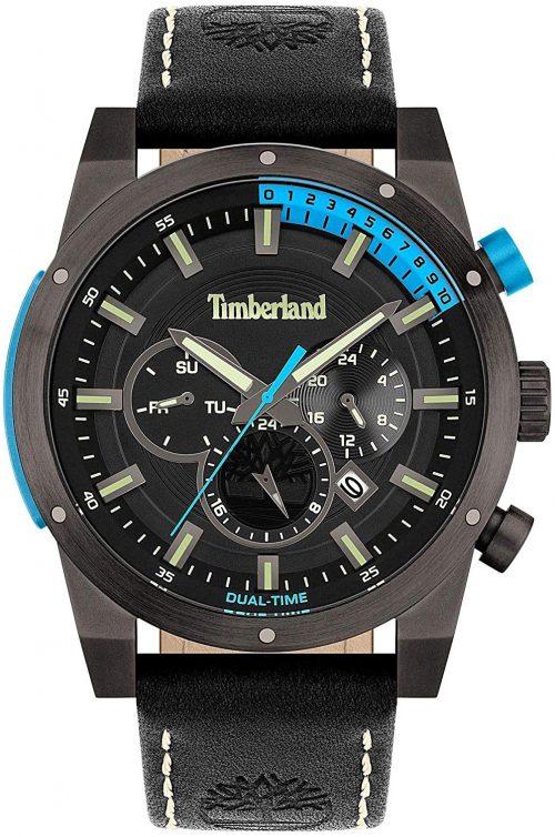 Timberland 99999 Herrklocka TBL15951JSU.02 Svart/Läder Ø46 mm