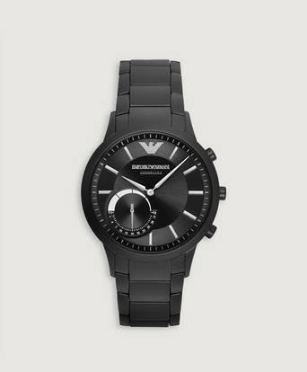 Armani Klocka Emporio Armani Hybrid Watch Svart