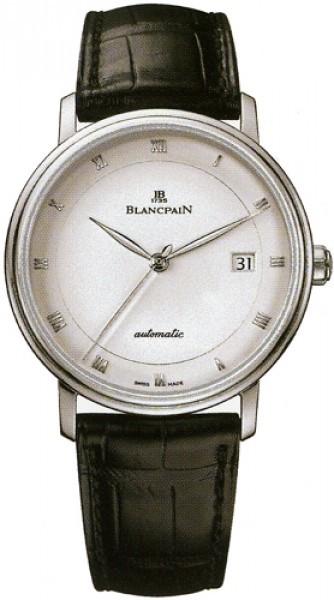 Blancpain Villeret Ultraflach Herrklocka 6223-1127-55A Vit/Läder