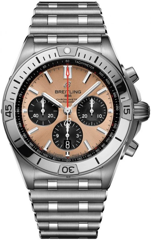 Breitling Chronomat B01 42 Herrklocka AB0134101K1A1