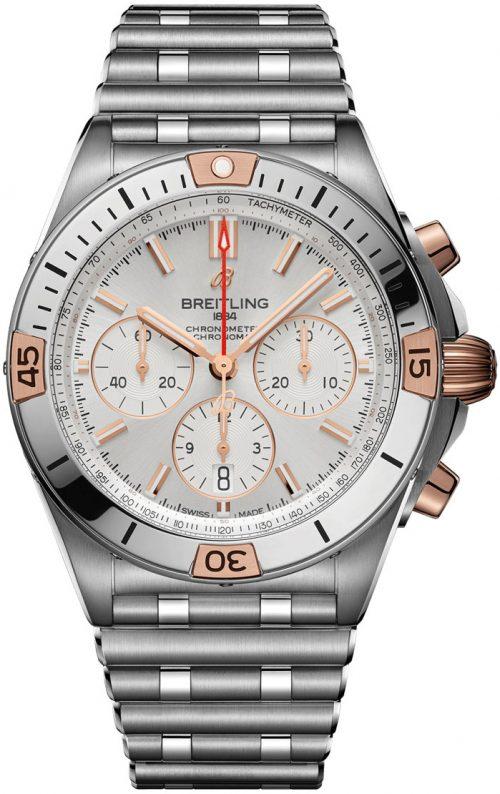 Breitling Chronomat B01 42 Herrklocka IB0134101G1A1