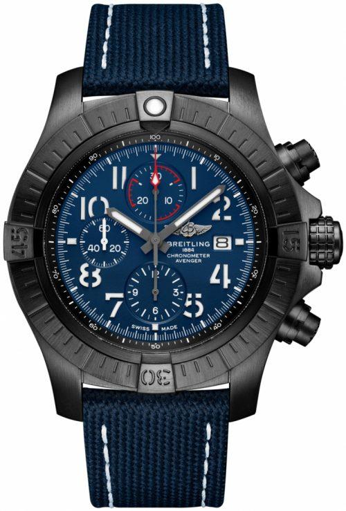 Breitling Super Avenger Chronograph 48 Herrklocka V13375101C1X1