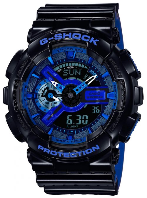 Casio G-Shock Herrklocka GA-110LPA-1AER Flerfärgad/Resinplast Ø55 mm