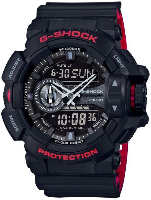 Casio G-Shock Herrklocka GA-400HR-1AER Svart/Resinplast Ø51.9 mm