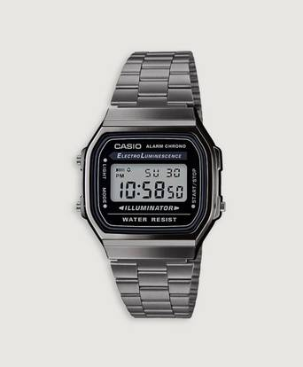 Casio Klocka A168WEGG-1AEF Grå