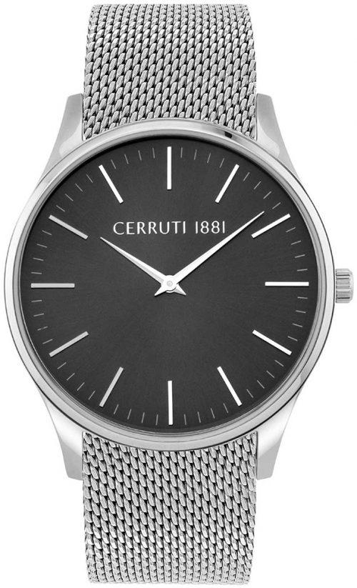 Cerruti 99999 Herrklocka CRA26201 Svart/Stål Ø42 mm