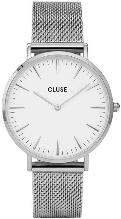 Cluse 99999 Damklocka CW0101201002 Vit/Stål Ø38 mm