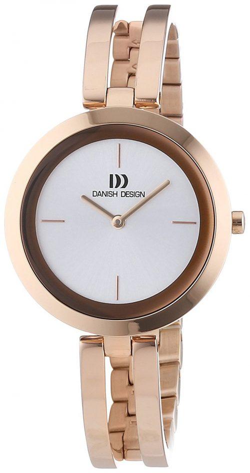 Danish Design Classic Damklocka 3320189 Vit/Roséguldstonat stål
