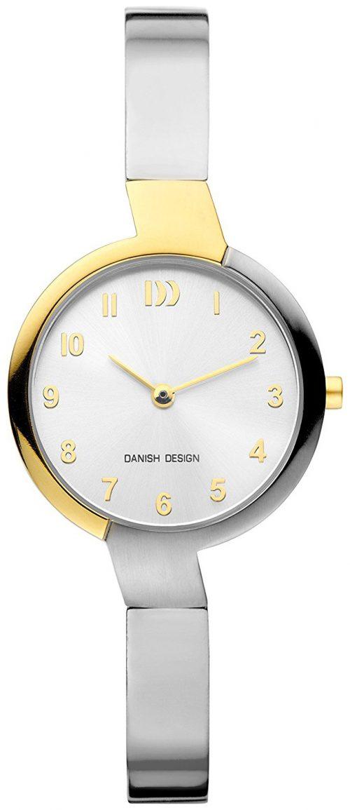 Danish Design Classic Damklocka IV65Q1201 Silverfärgad/Titan Ø28 mm