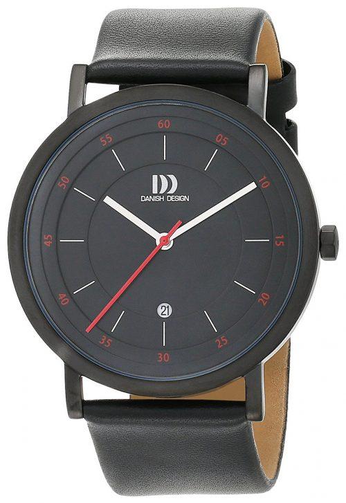 Danish Design Classic Herrklocka 3314527 Svart/Läder Ø42 mm