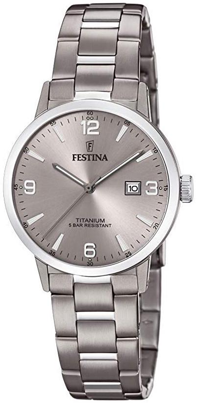 Festina 99999 Damklocka F20436-2 Grå/Titan Ø32 mm