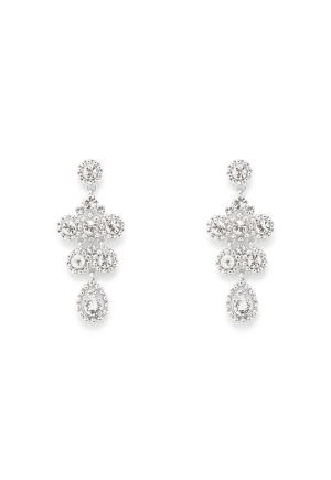 LILY AND ROSE Petite Kate Earrings Crystal One size