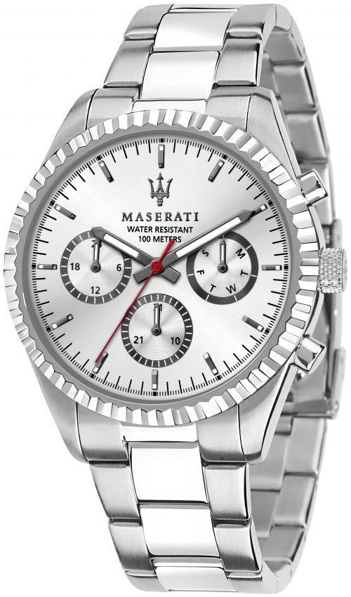 Maserati Competizione Herrklocka R8853100018 Silverfärgad/Stål Ø43