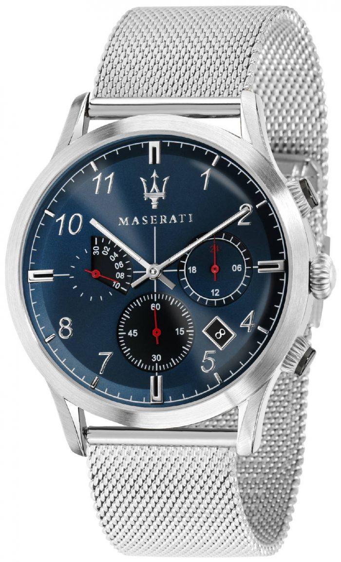 Maserati Ricordo Herrklocka R8873625003 Blå/Stål Ø42 mm