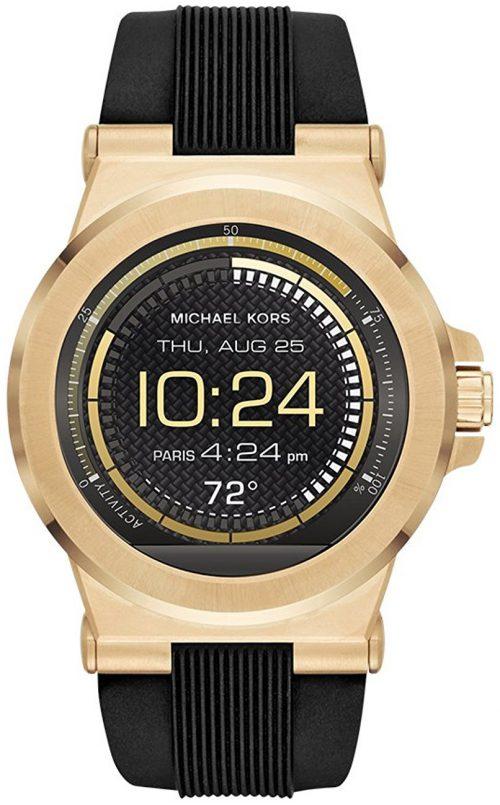 Michael Kors Smartwatch Herrklocka MKT5009 LCD/Gummi Ø46 mm