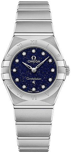 Omega Constellation Quartz 25Mm Damklocka 131.10.25.60.53.001