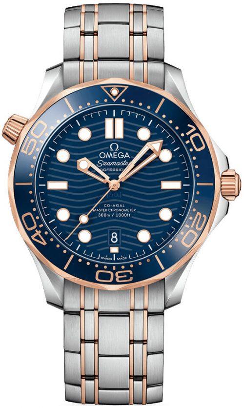 Omega Seamaster Diver 300M Herrklocka 210.20.42.20.03.002 Blå/18