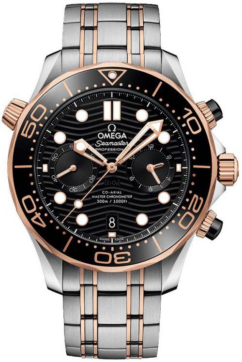 Omega Seamaster Diver 300M Herrklocka 210.20.44.51.01.001 Svart/18