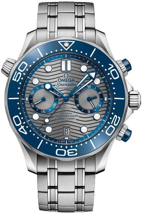 Omega Seamaster Diver 300M Herrklocka 210.30.44.51.06.001 Grå/Stål