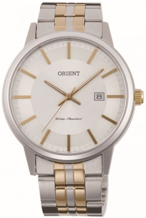Orient Contemporary Herrklocka FUNG8002W0 Silverfärgad/Gulguldtonat