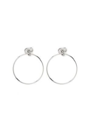 Pieces Jorie Earrings Silver One size