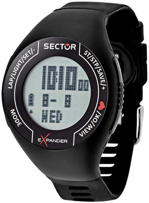 Sector Street Herrklocka R3251473001 LCD/Gummi Ø47 mm