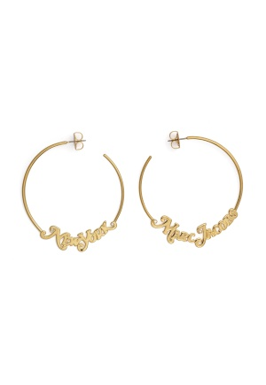 The Marc Jacobs The Logo Hoops Small 710 Gold One size