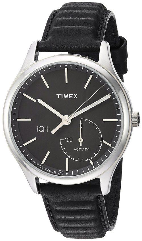 Timex Sport Herrklocka TW2P93200 Svart/Läder Ø41 mm