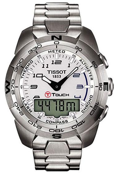 Tissot T-Touch Herrklocka T013.420.11.032.00 Silverfärgad/Stål